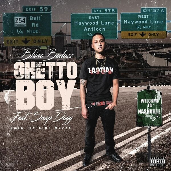 Cover art for Ghetto Boy
